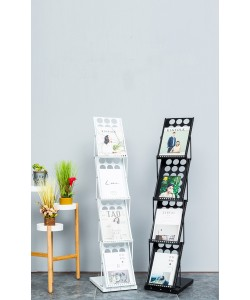 Folding Display Rack Black